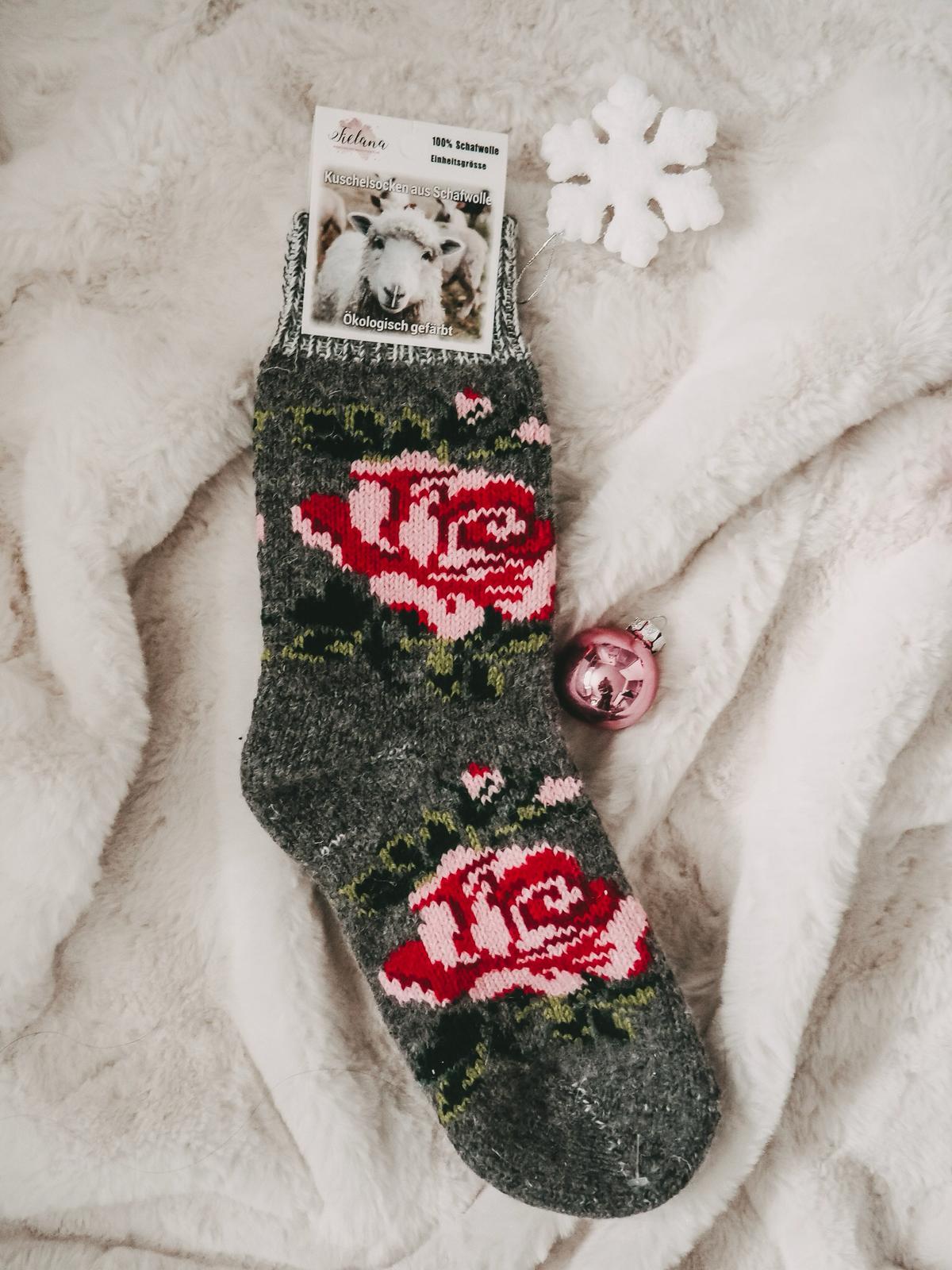 Wollsocken von Fielana Handmade