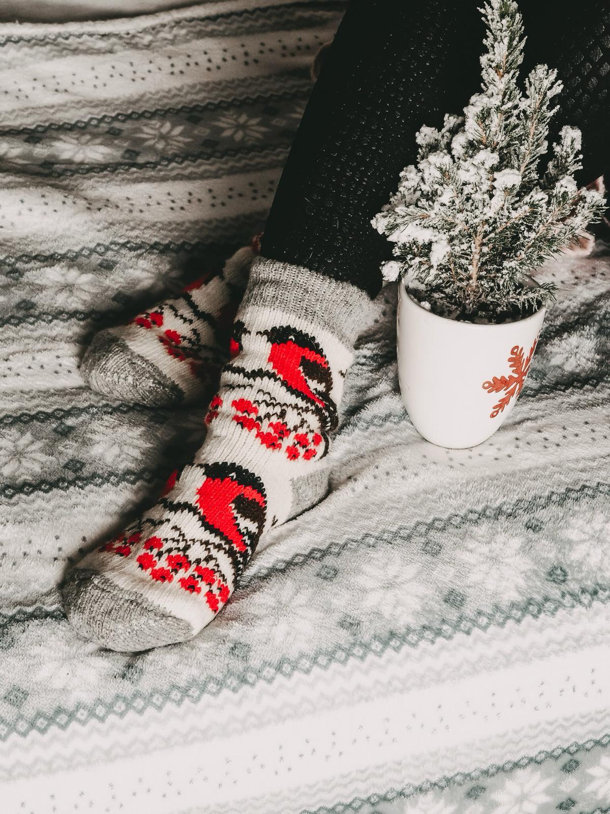 Schafwolle-Socken von Fielana Handmade