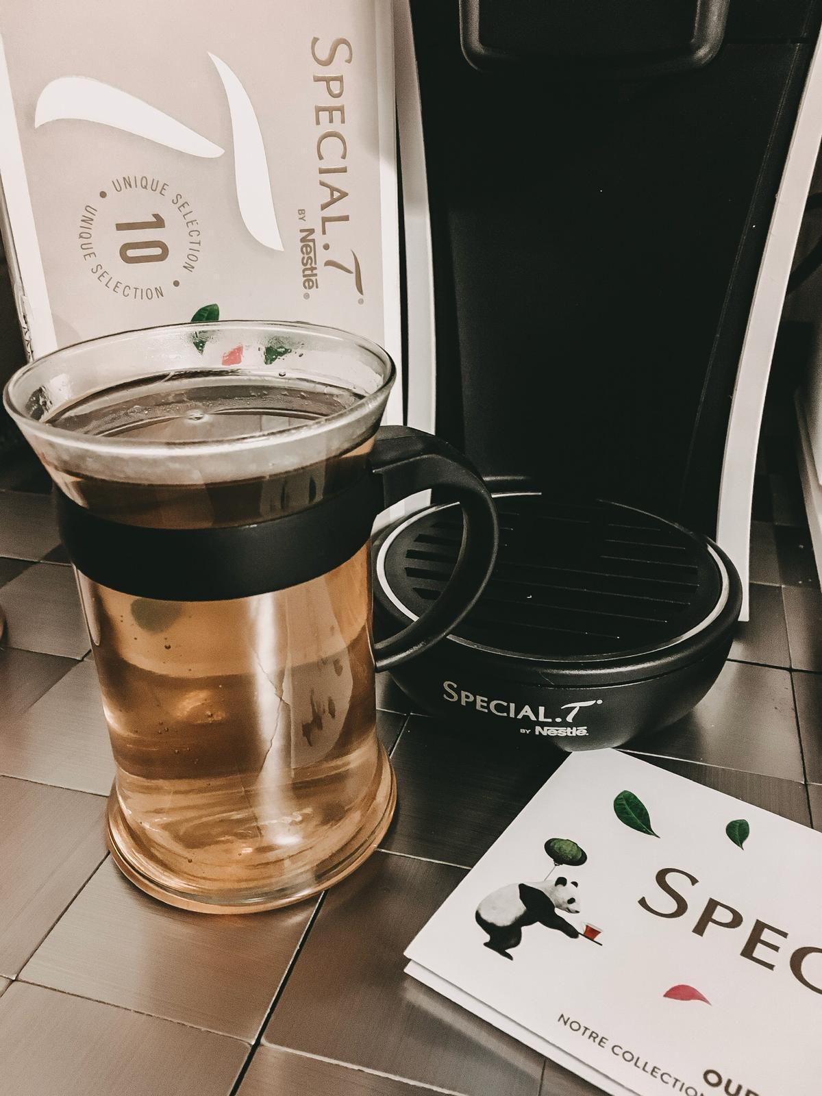 Der hcohwertige Tee von Special T.