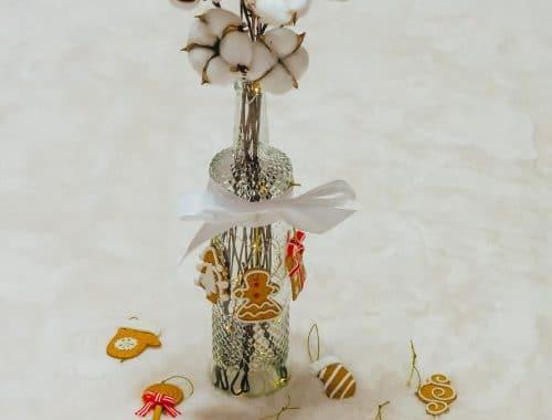 DIY Schneezauber Leuchtflasche