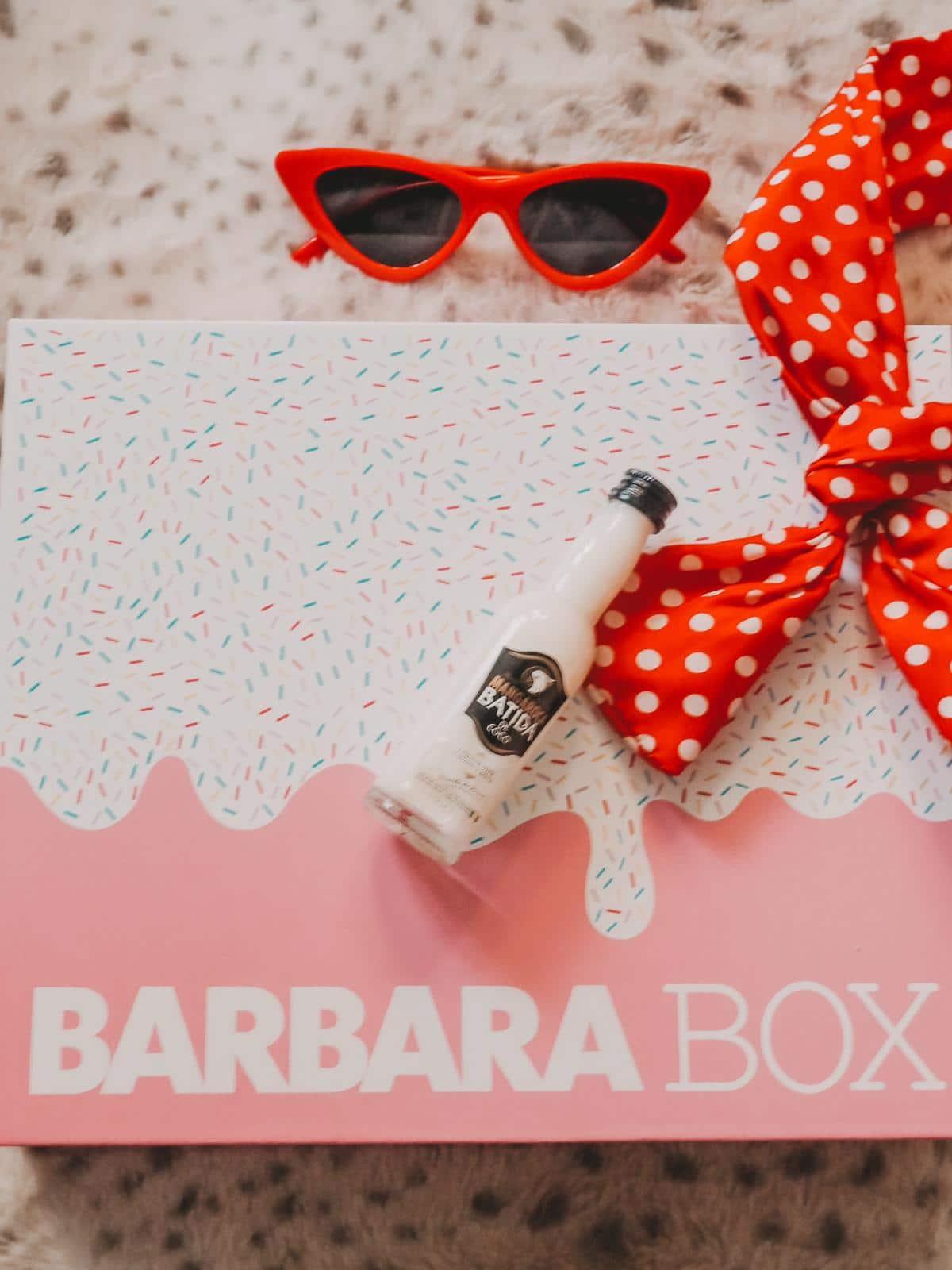 Batida de Coco in der Barbara Box Sahneschnitte