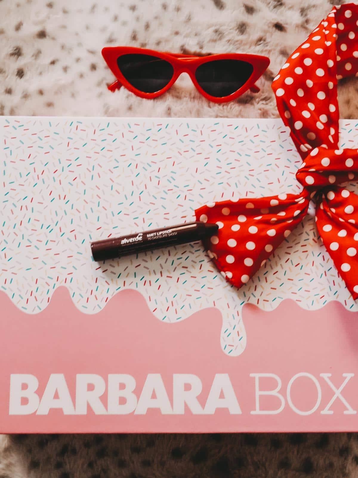 Barbara Box Sahneschnitte Alverde Naturkosmetik Lippen Duo