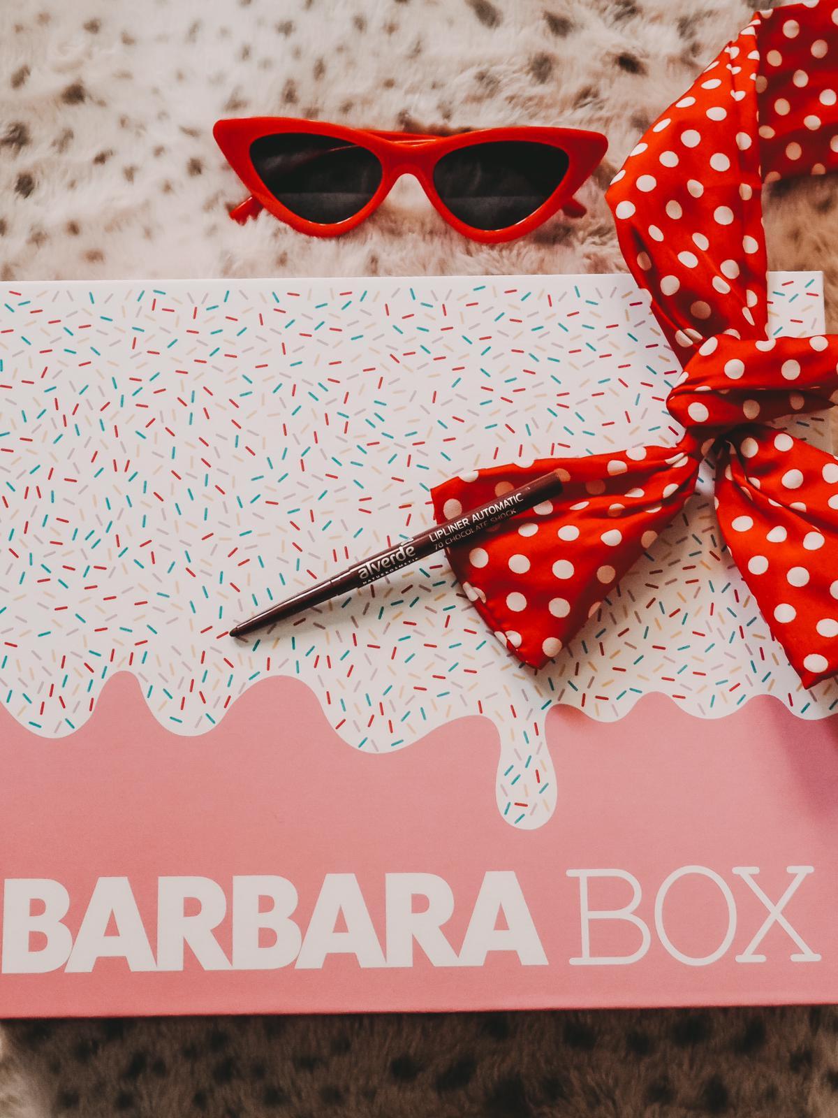 Alverde Naturkosmetik in der Barbara Box Sahneschnitte