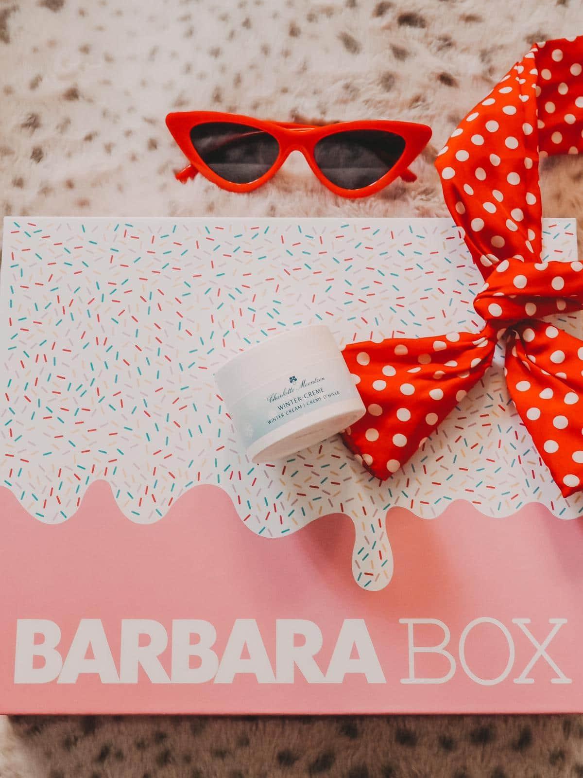 Barbara Box Sahneschnitte mit Wintercreme