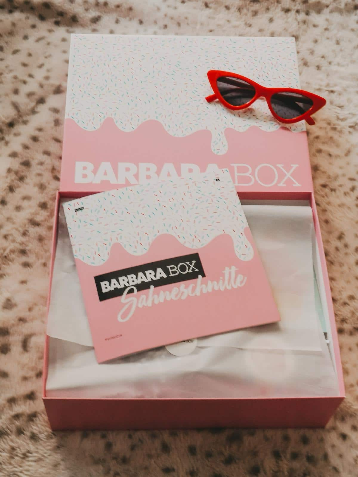 Die Barbara Box Sahneschnitte