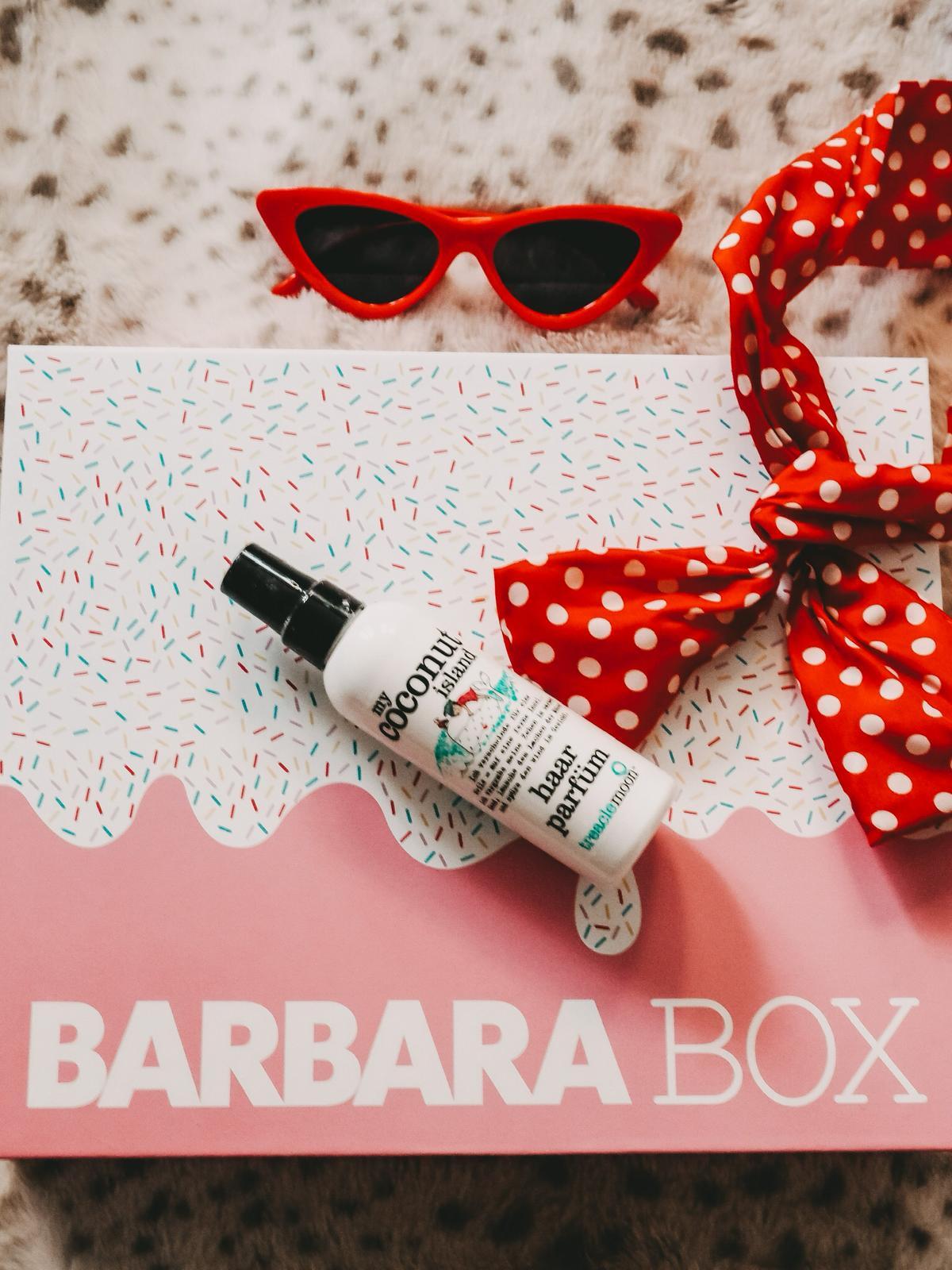 Haarparfüm in der Barbara Box Sahneschnitte