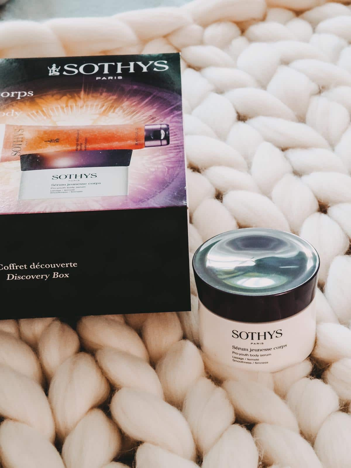 Sothys Pro-Youth Firming Body Treatment Serum.