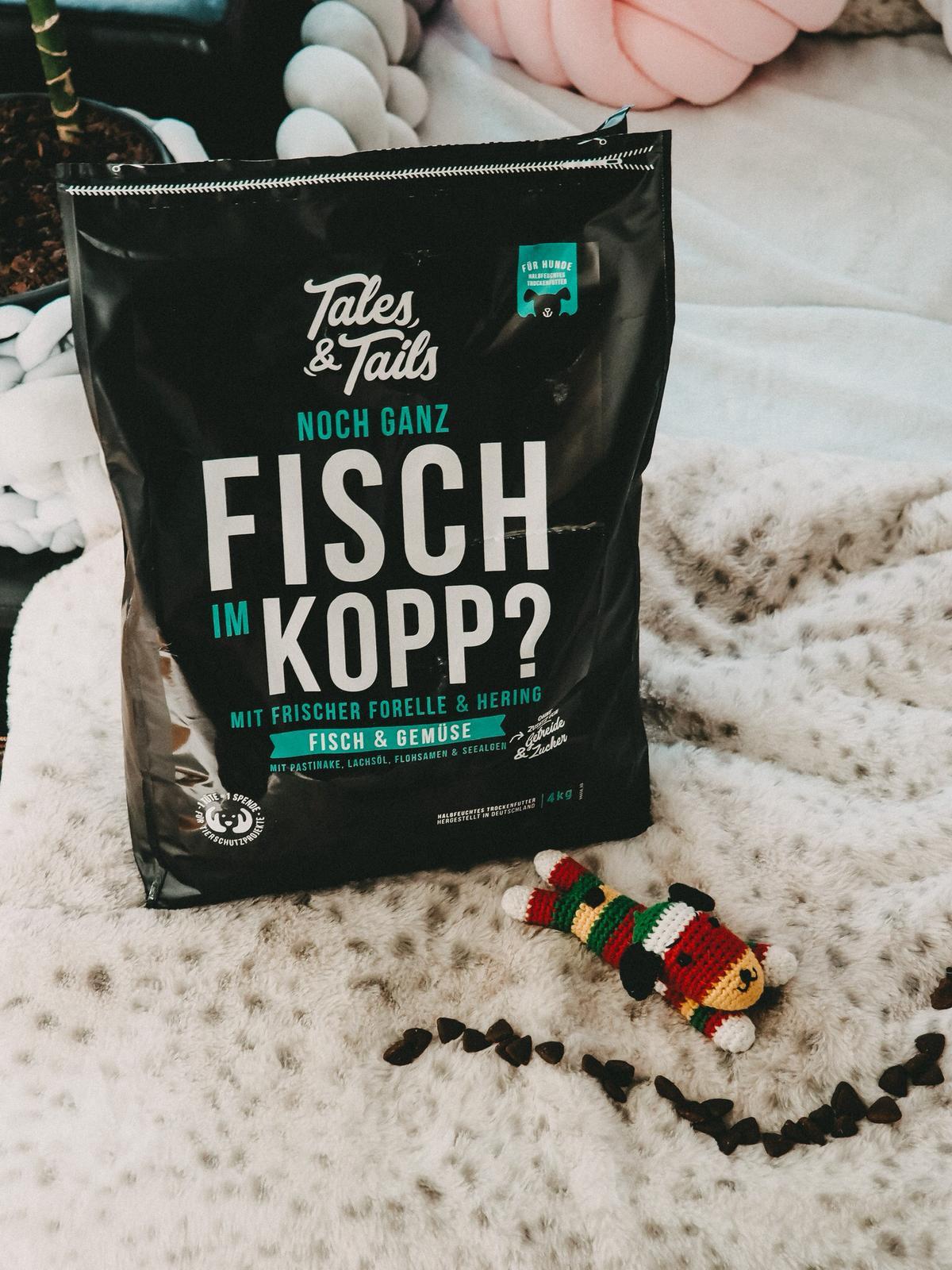 Tales and Tails Noch ganz Fisch im Kopp Futter
