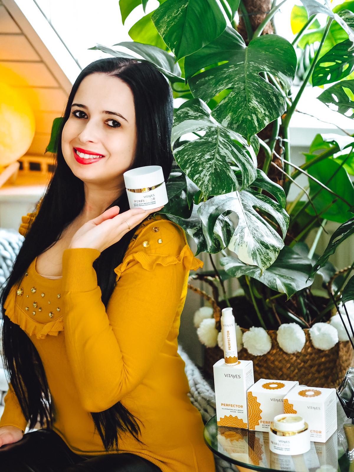 Nachtcreme der Perfector Hautpflegeserie von Vitayes