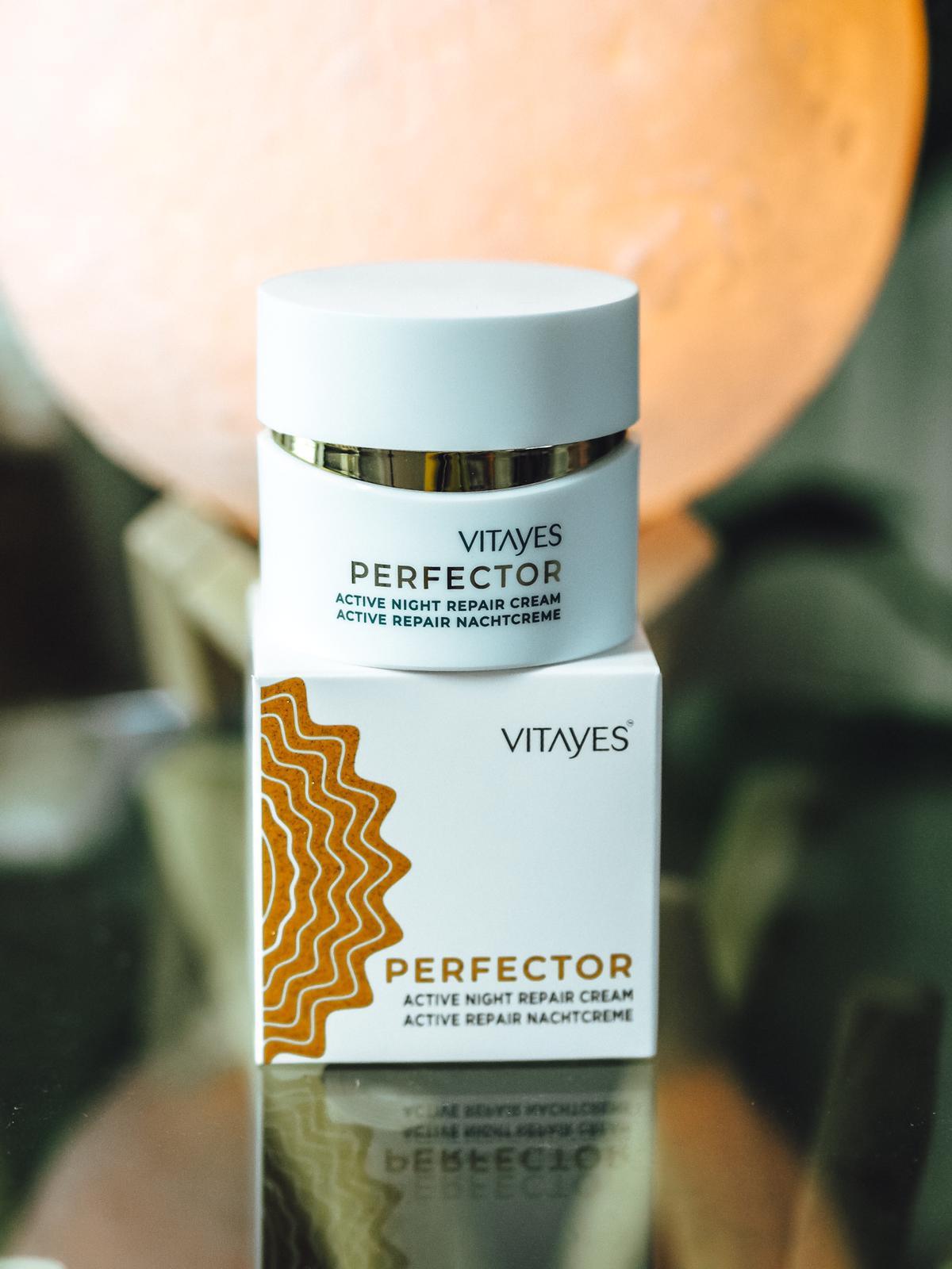 Perfector Hautpflegeserie von Vitayes-Nachtcreme
