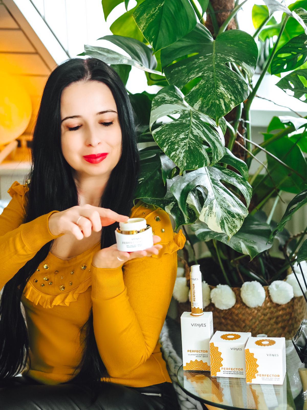 Die Tagescreme der Perfector Hautpflegeserie von Vitayes