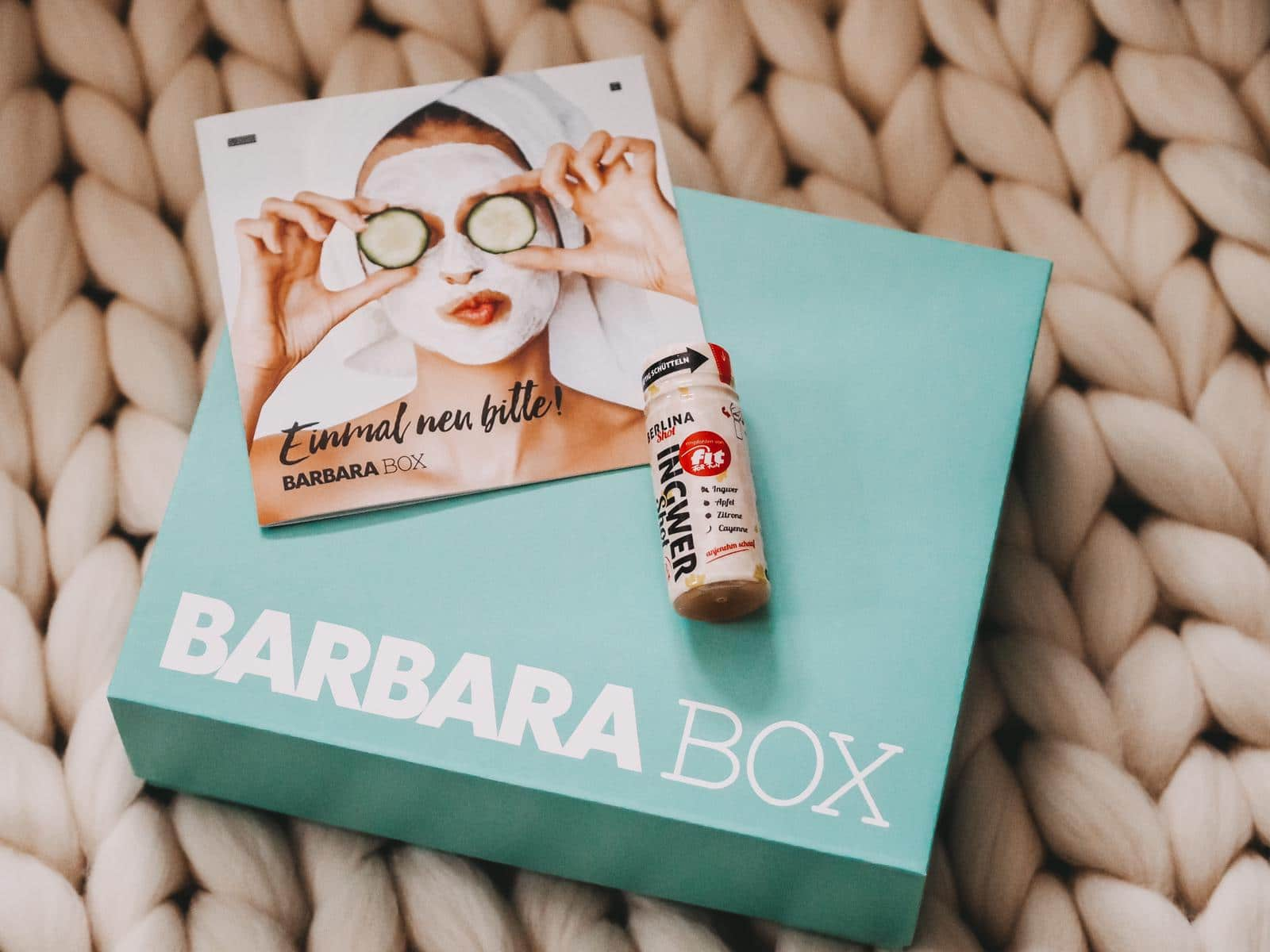 Ingwer Shot aus der Barbara Box Einmal neu bitte