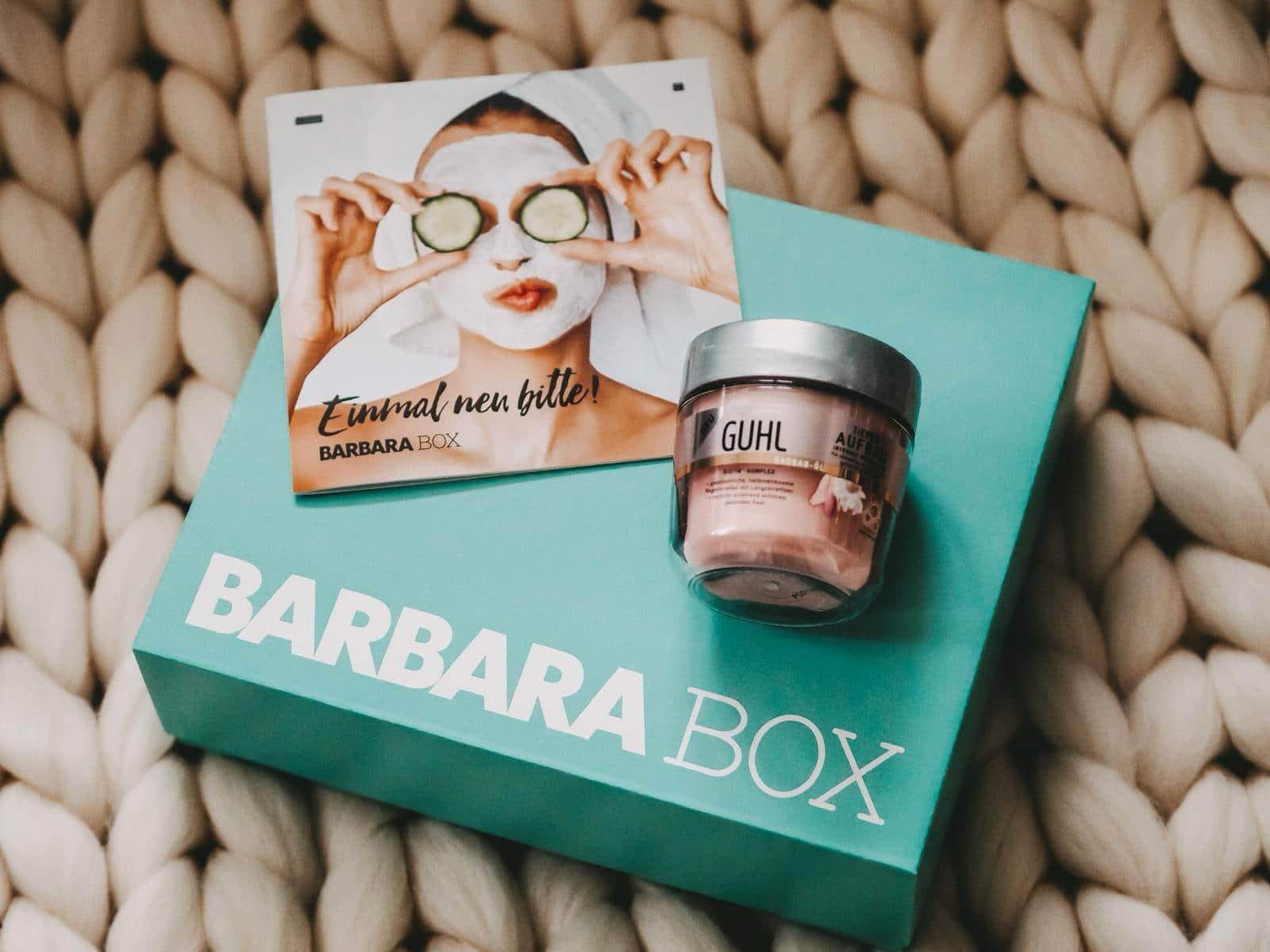 Guhl Haarkur aus der Barbara Box Einmal neu bitte