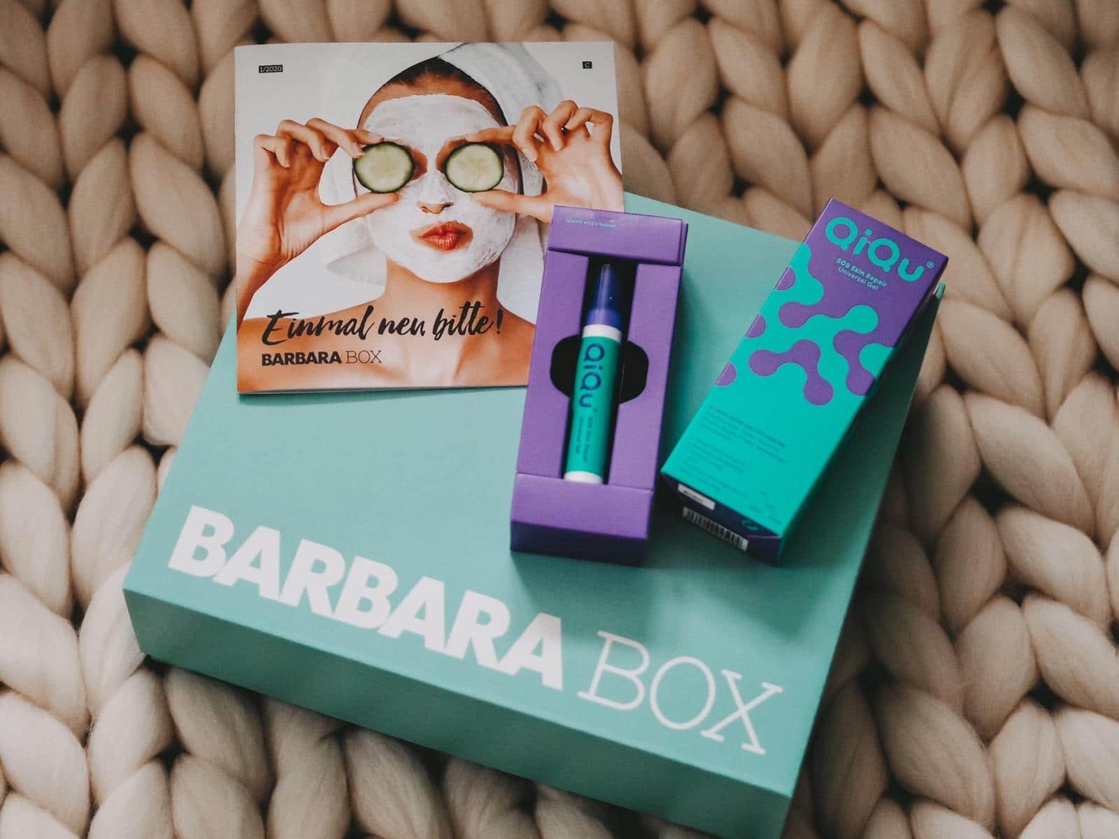 QuiQu Hautgel aus der Barbara Box Einmal neu bitte
