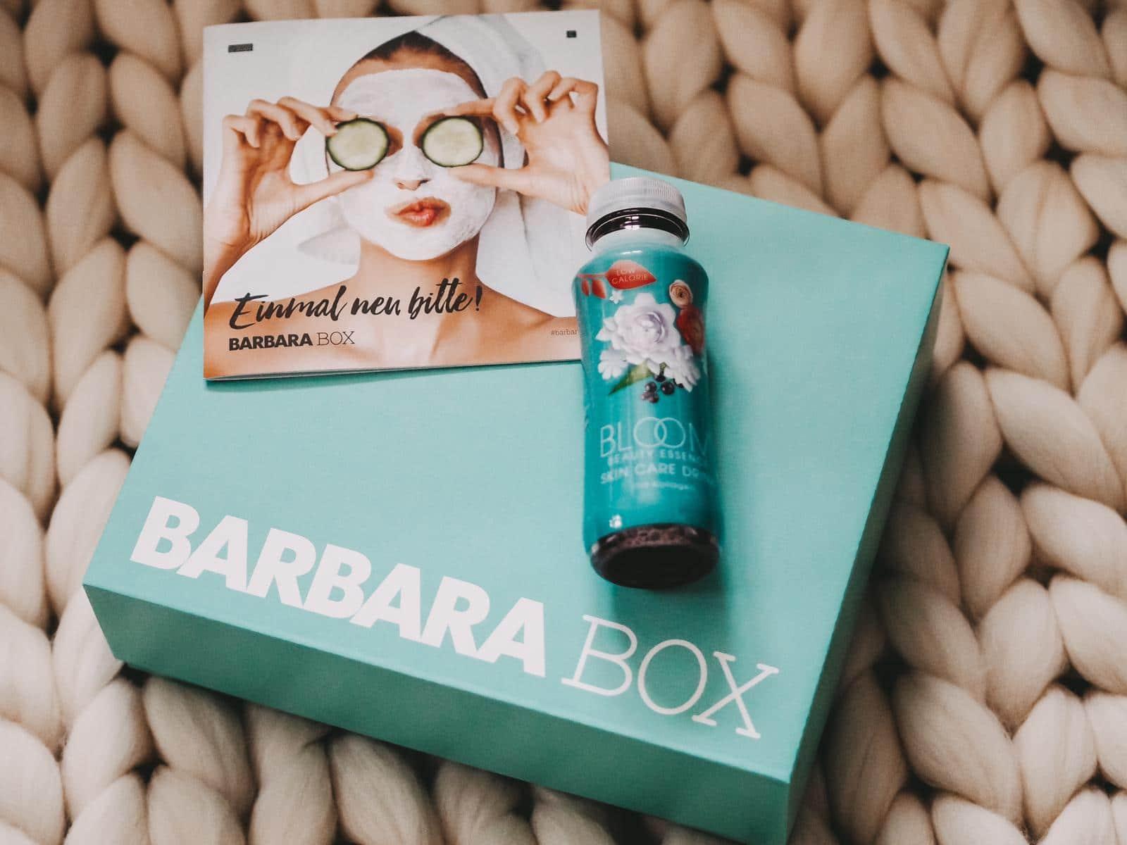 Bloom Skincare Detox Drink aus der Barbara Box Einmal neu bitte