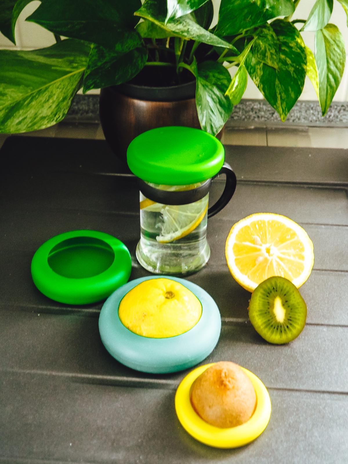 Obst- nd Gemüsehüte zum Abdecken von Gläsern von Samebutgreen