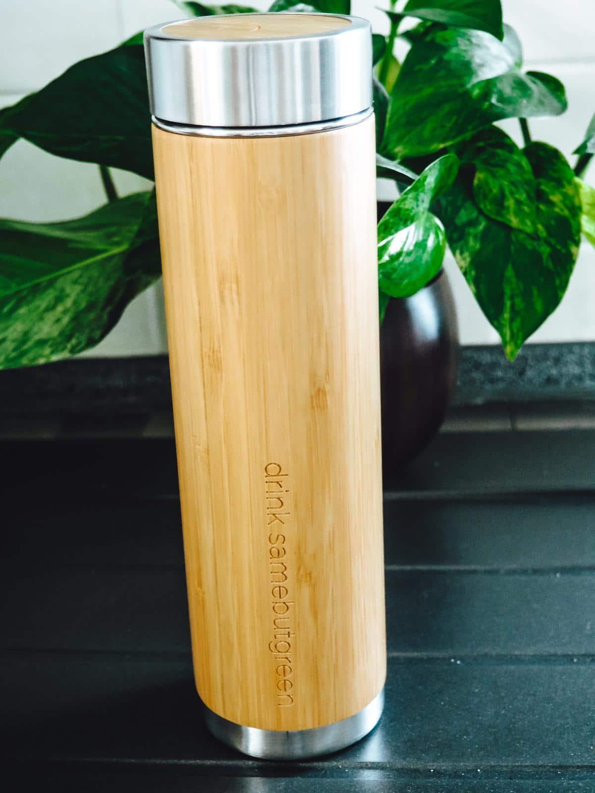 Bambus Teeflasche von Samebutgreen