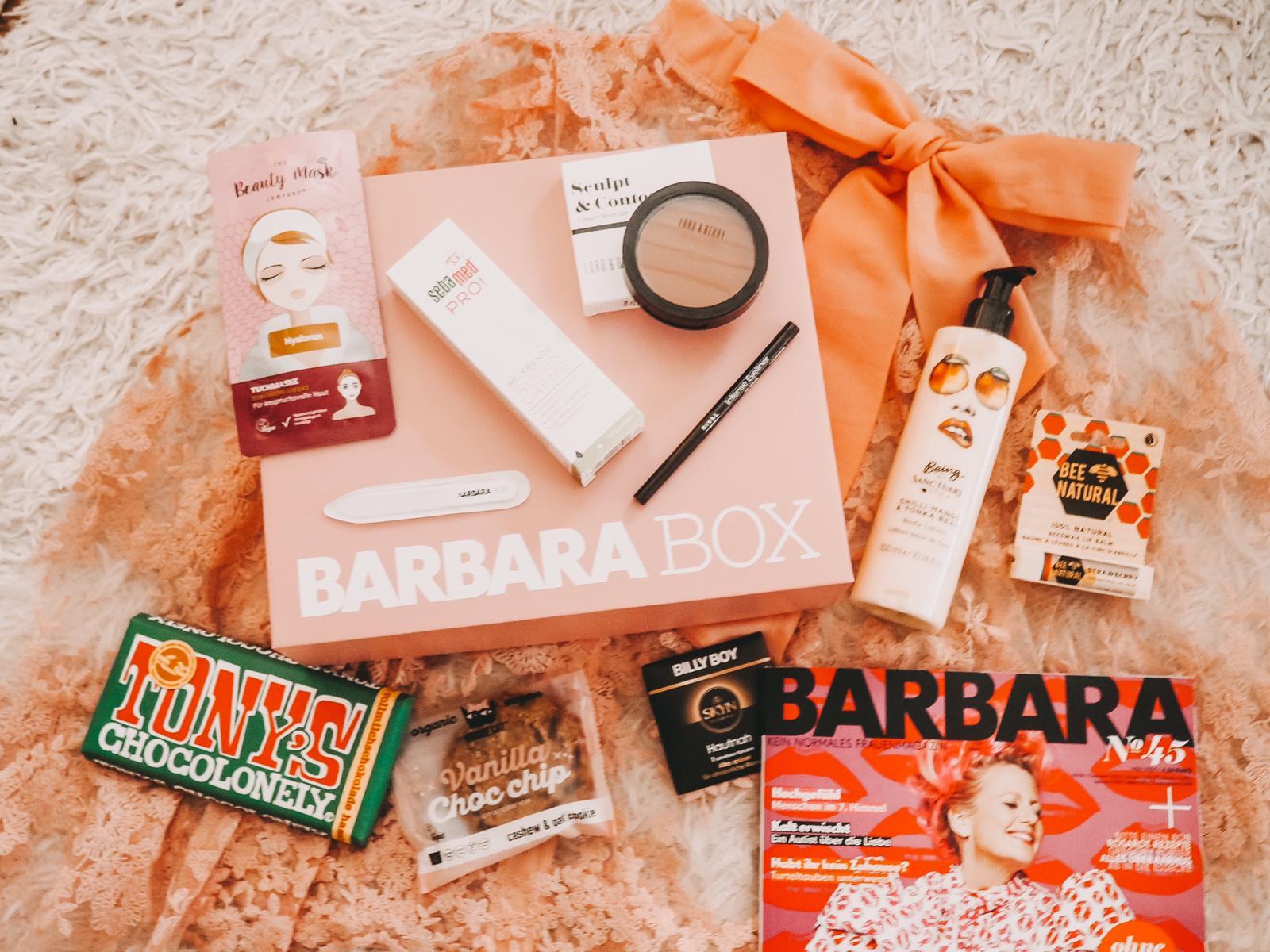 Unboxing Barbara Box Ein Hoch auf Mich