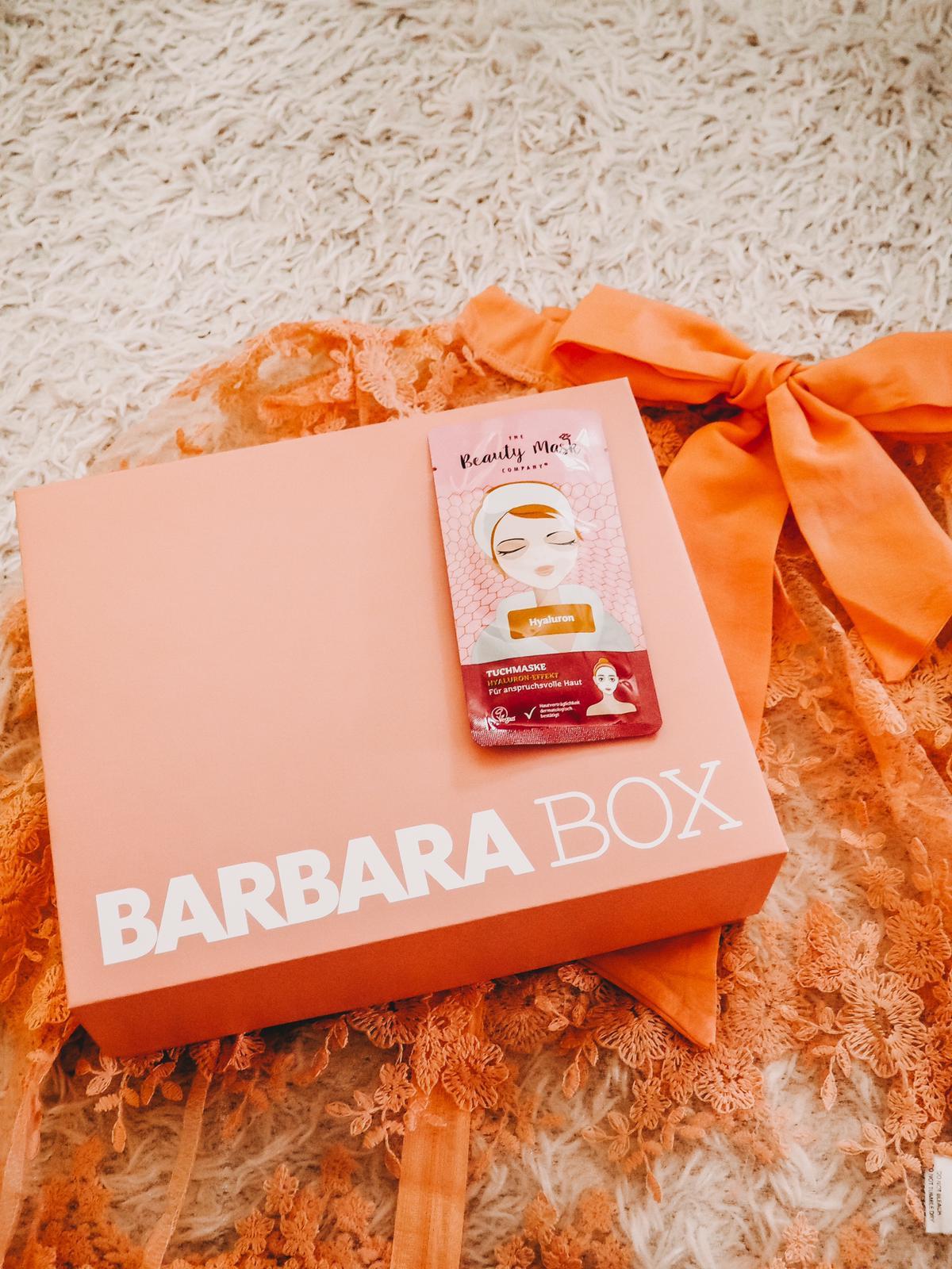 Tuchmaske Barbara Box Ein Hoch auf Mich
