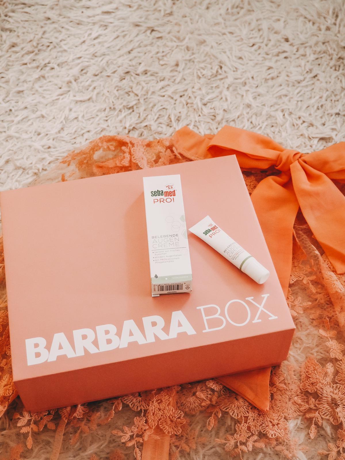 Augencreme Barbara Box Ein Hoch auf Mich