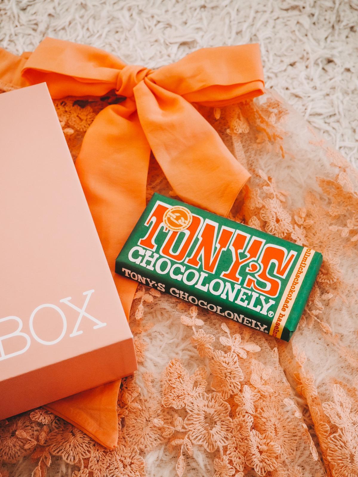 Tony´s Schokolade Barbara Box Ein Hoch auf Mich
