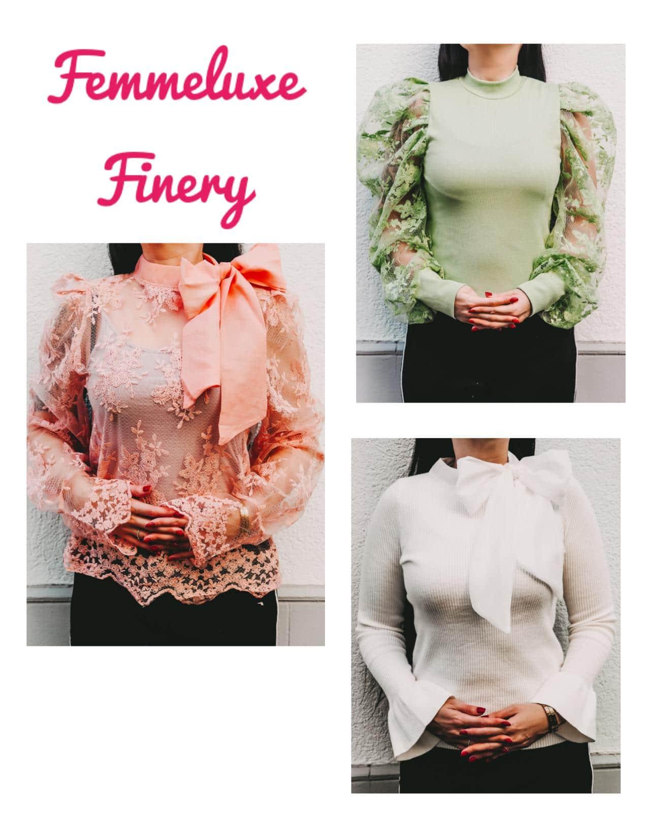 Wunderschöne Oberteile von Femmeluxefinery