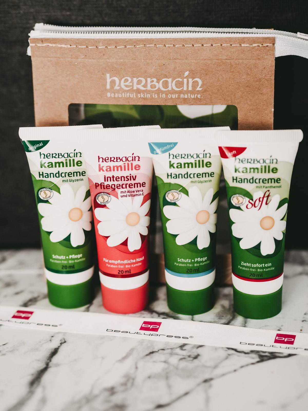 Beautypress News Box Juni 2020 - Herbacin Kamille