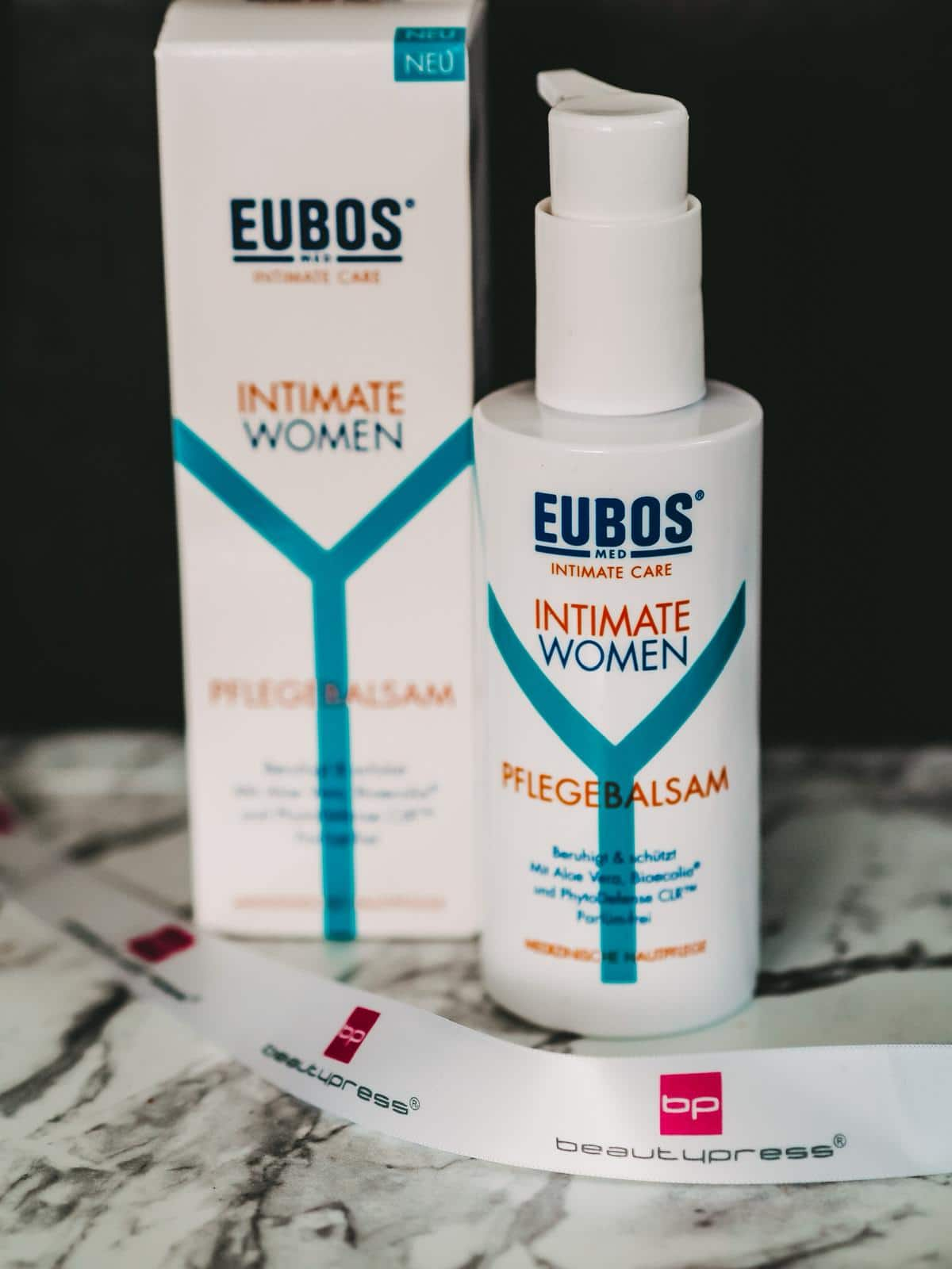 Beautypress News Box Juni 2020 - Eubos Intimate Women Pflegebalsam