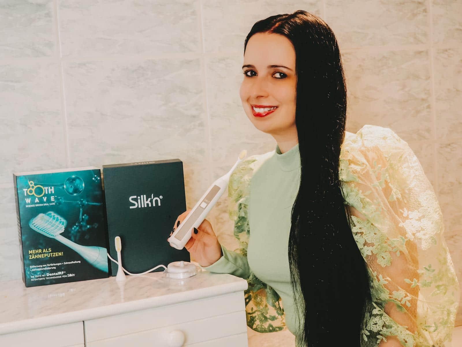 Die Silk'n ToothWave ist die beste Zahnbürste