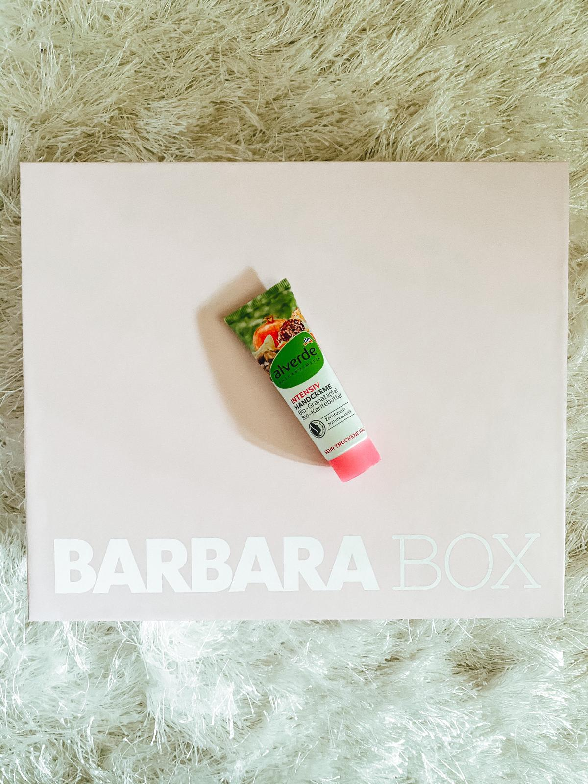 Barbara Box Summer Power - Alverde Handcreme