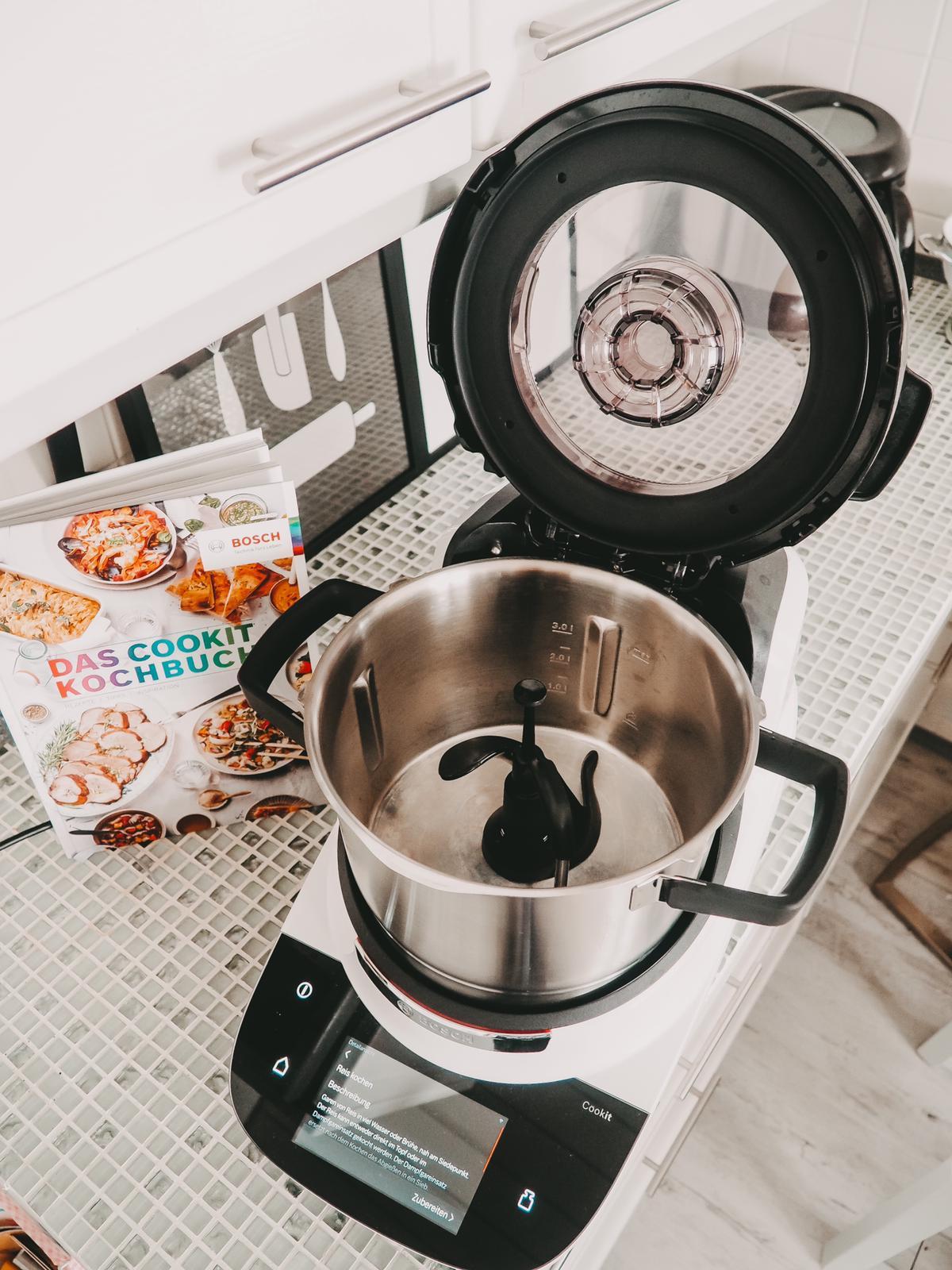 Innovative Küchenmaschine mit Kochfunktion