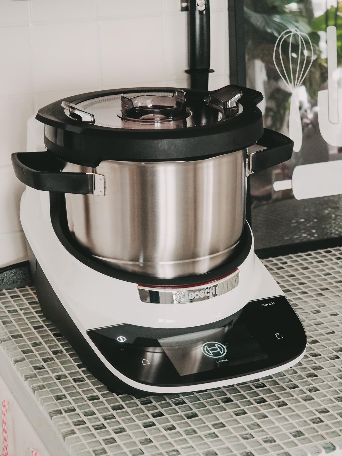 Der Bosch Cookit besticht durch futuristisches Design