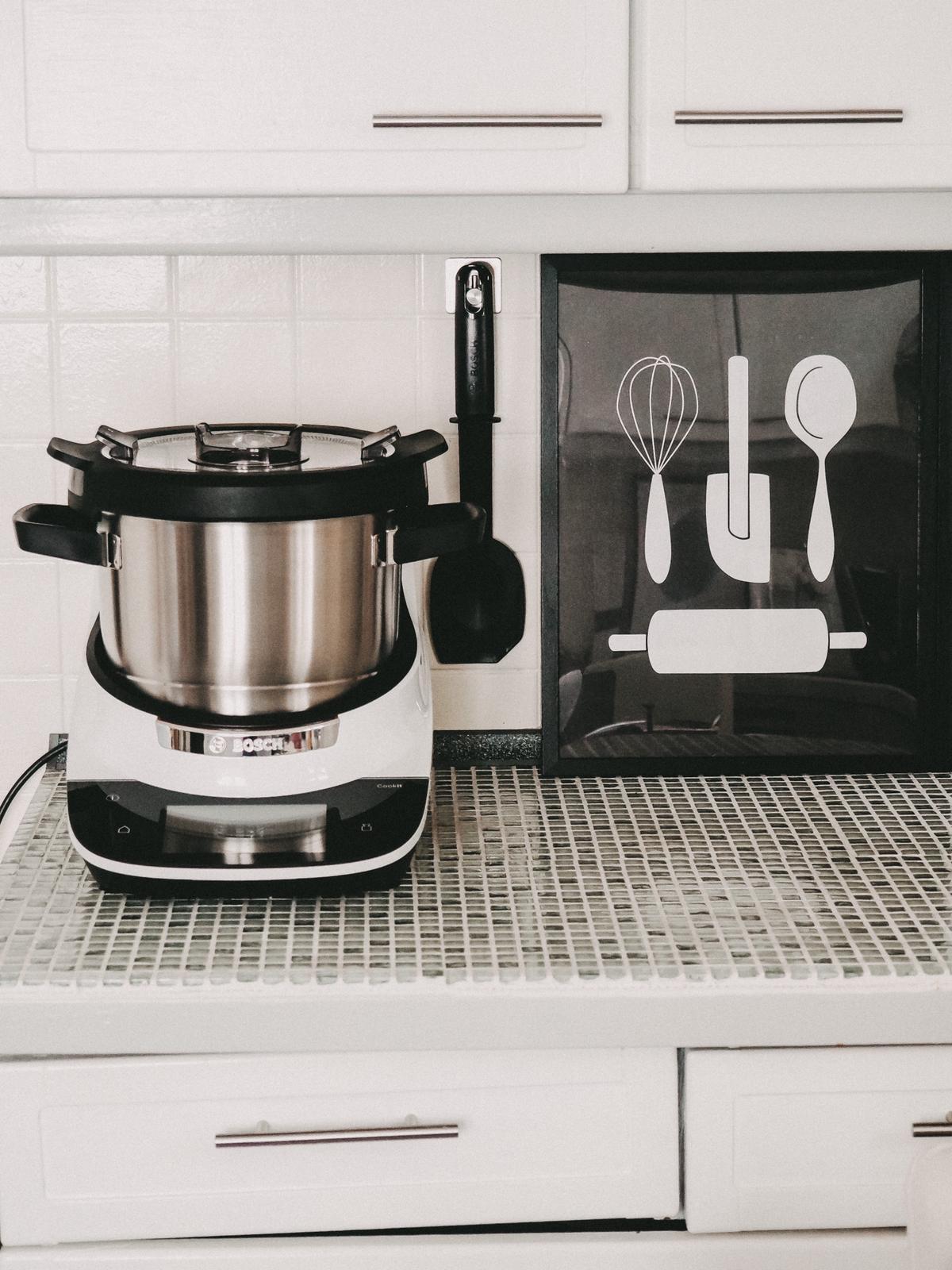 Design in der Küche mit dem Bosch Cookit