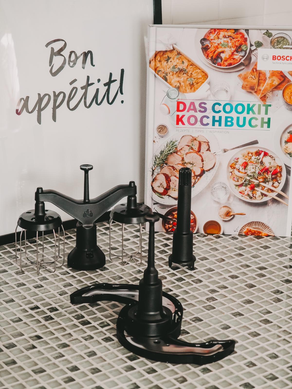 Rührbesen usw. vom Bosch Cookit