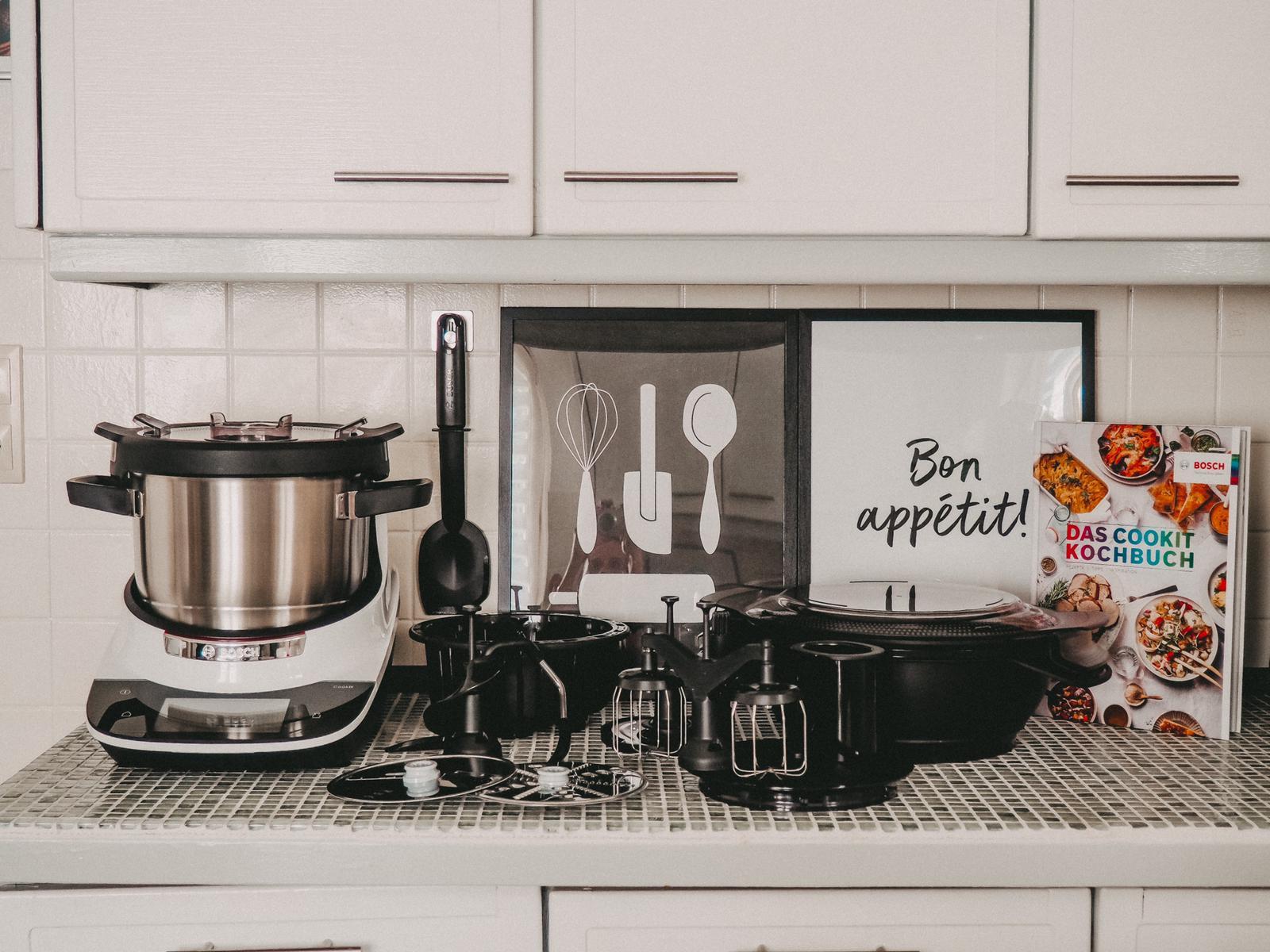 Zubehör vom Bosch Cookit