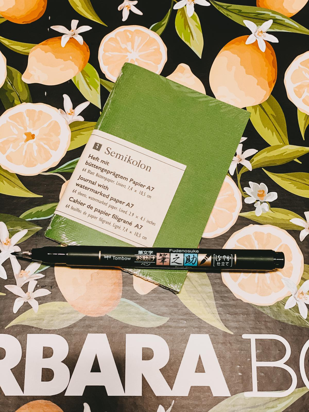 Barbara Box La Dolce Vita Semikolon und Stift