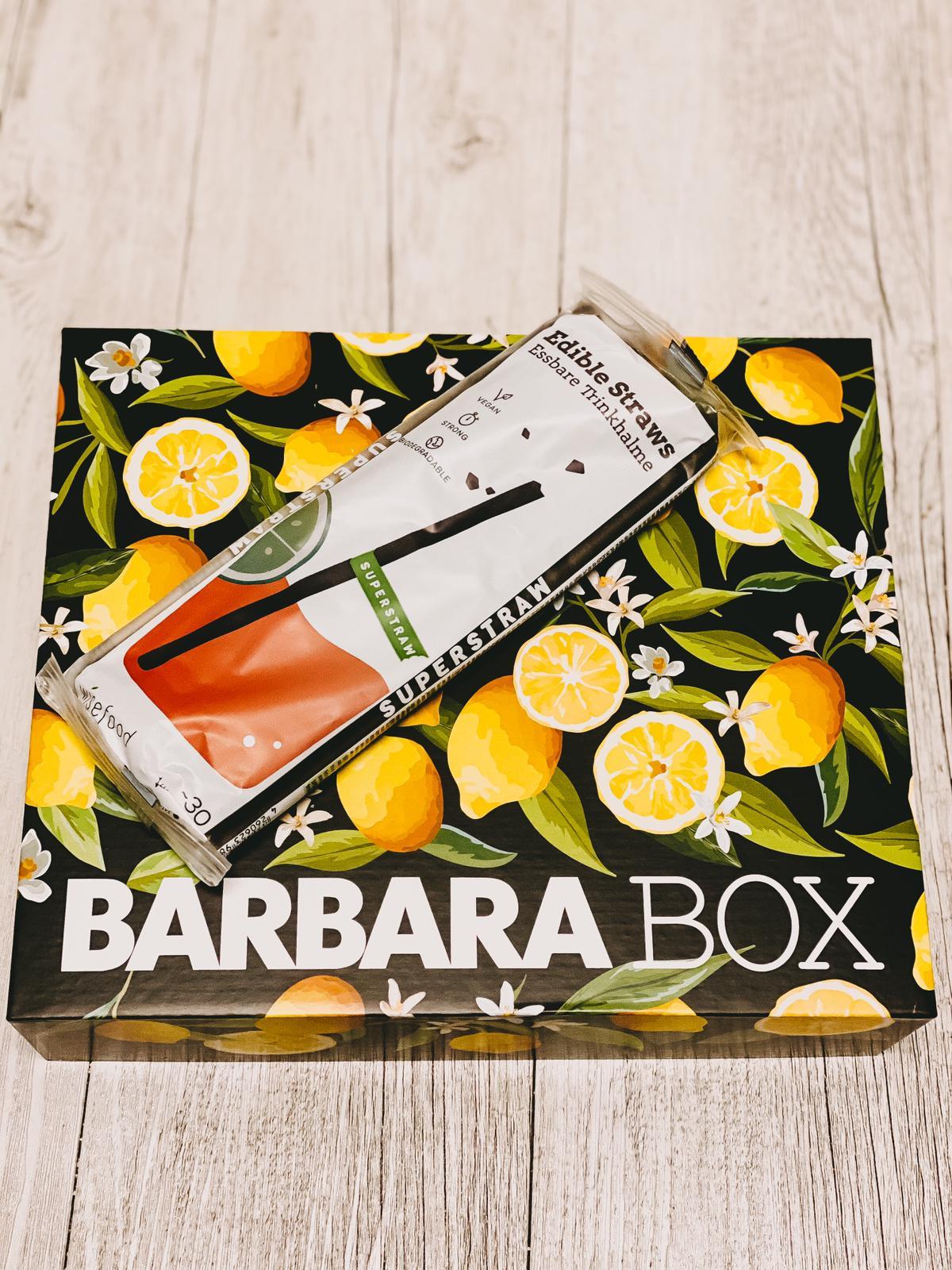 Barbara Box La Dolce Vita essbare Trinkhalme