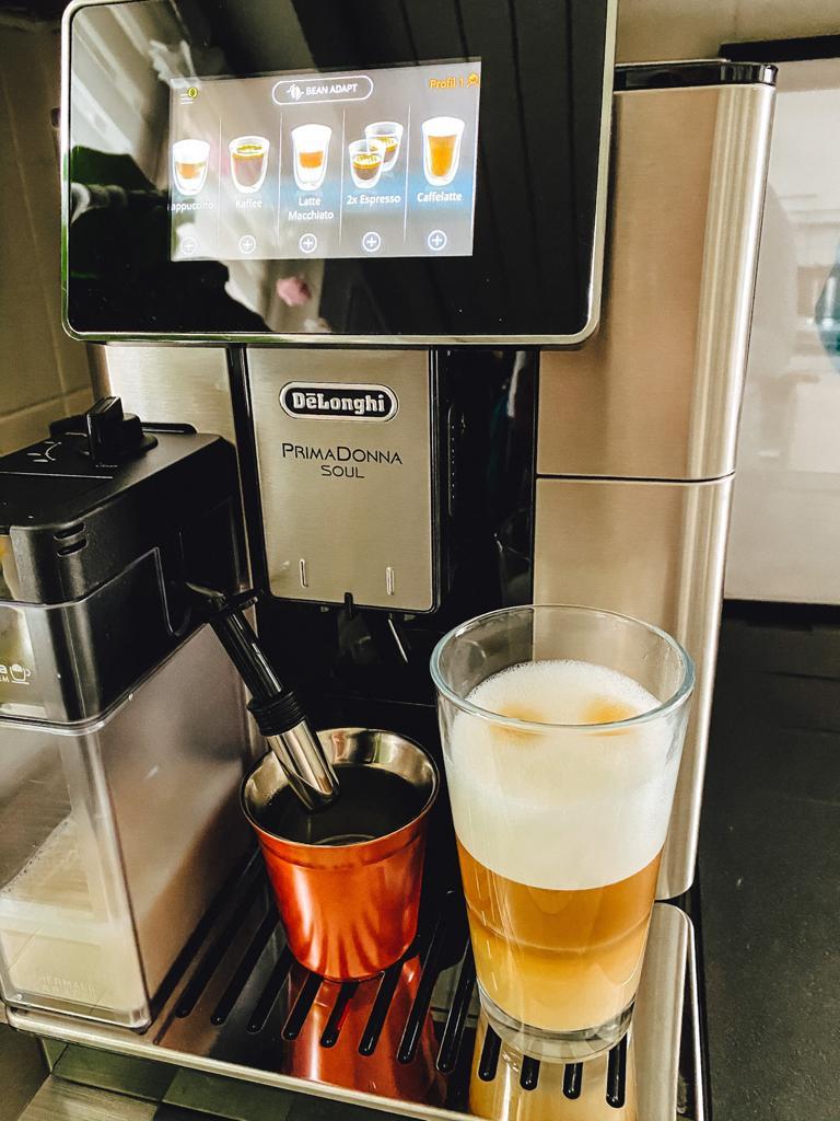 Perfekter Kaffee mit der PrimaDonna Soul (ECAM 610.75)