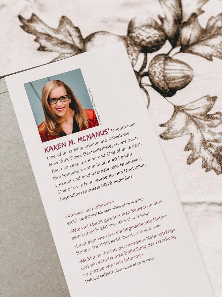 Die Autorin Karen M. McMagnus